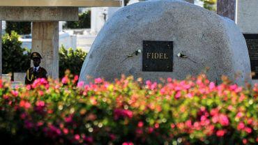 La tombe de Fidel Castro