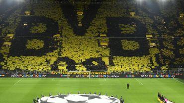 Les supporters de Dortmund nous gratifient à nouveau d'un tifo sensationnel