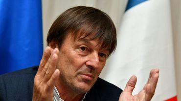 Le ministre français de la Transition écologique et solidaire, Nicolas Hulot, le 12 juin 2017 à Bologne en Italie