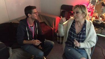 Rencontre avec Patricia Kaas à Spa