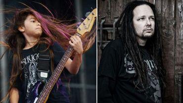 Korn et son bassiste de 12 ans