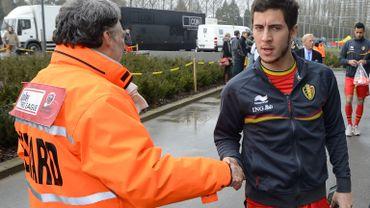 Hazard, Vertonghen, Dembélé et Defour s'entraînent à part