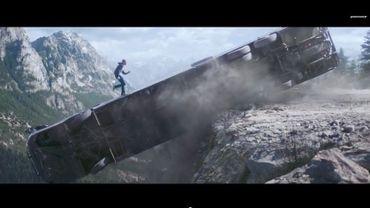 """Capture d'écran youtube du trailer de """"Furious 7"""""""