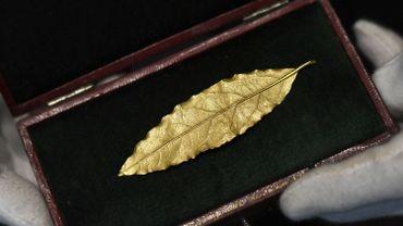 Une feuille d'or de la couronne de Napoléon Ier s'arrache pour 625.000 euros