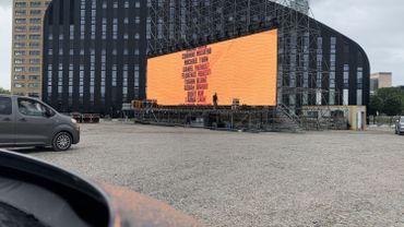Le cinéma en plein air Movie Drive s'implante à Tour & Taxis pour l'été