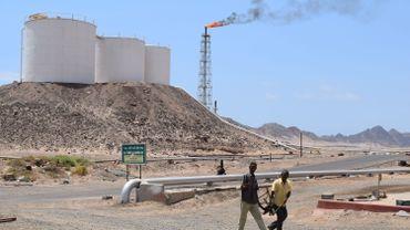 La raffinerie d'Aden en 2015