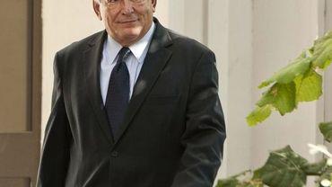 Dominique Strauss-Kahn quitte le bureau de police après la confrontation avec Tristane Banon