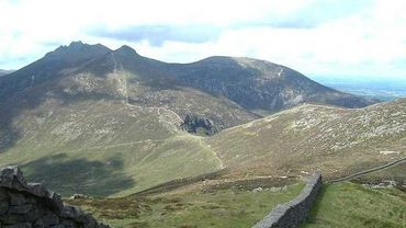 North irland, Mourne mountains