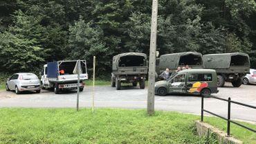 Les recherches sont menées par la Défense en collaboration avec la police locale