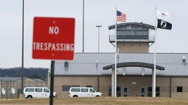 Vue extérieure d'une prison aux Etats-Unis, en 2009