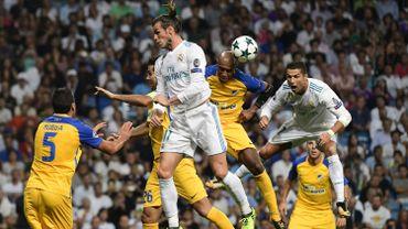 Cristiano Ronaldo, à droite