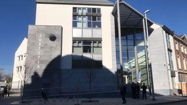 Le nouveau palais de Justice d'Eupen,à deux pas de l'hôtel de ville