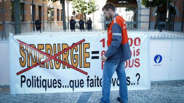 """La FGTB Métal Liège-Luxembourg qualifie l'annonce de la vente des lignes de galvanisation à Liège par ArcelorMittal comme """"la plus mauvaise solution""""."""