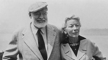 Ernest Hemingway et son épouse