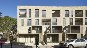 Ely Court à Londres par Alison Brooks Architects