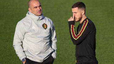 Roberto Martinez positif tant pour Eden Hazard que pour le stage au Qatar