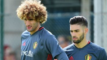 Fellaini et Carrasco