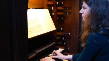 La benjamine des lauréates, Marie-Evodie Mahieu, joue de l'orgue depuis dix ans.