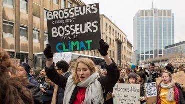 Manif des jeunes pour le climat: les écoles recadrent les élèves avec l'appui de la ministre