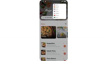 L'appli Mucho Menu pour choisir son menu au restaurant et commenter les plats.