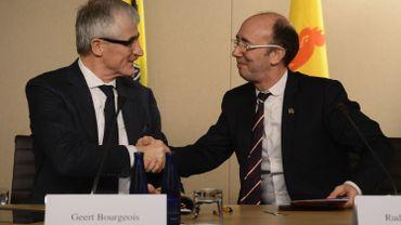 Budget: Geert Bourgeois et Rudy Demotte questionnent le fédéral