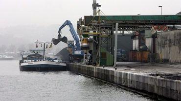 Néanmoins, l'année 2011 n'a pas été entièrement négative pour le port fluvial de Liège.