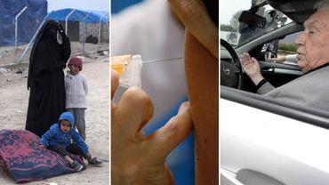 Les enfants de combattants de l'Etat Islamique, le papillomavirus et un test d'aptitude à la conduite dans la Semaine Viva