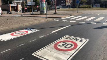Depuis le mois de mai, le centre-ville de Charleroi est passé en zone 30.