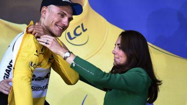 """Kittel : """"Ce maillot jaune, il est pour mes équipiers"""""""
