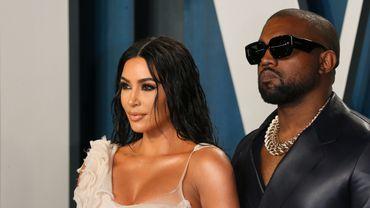 Kim Kardashian et son époux, le rappeur Kanye West.