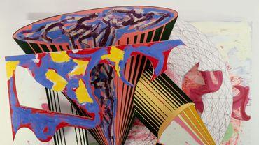 """Frank Stella, """"Gobba, zoppa e collotorto"""", 1985"""