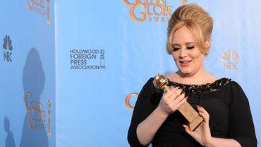 Adele au Golden globe en 2013