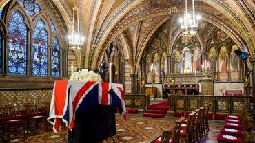 M. Thatcher aura des funérailles sous haute sécurité