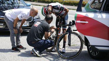 Aru abandonne au début de la 19ème étape du Giro