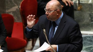 Le ministre de l'Agriculture Stéphane Travert à Paris le 2 aoît 2017