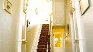 L'intérieur de la maison de Magritte à Châtelet