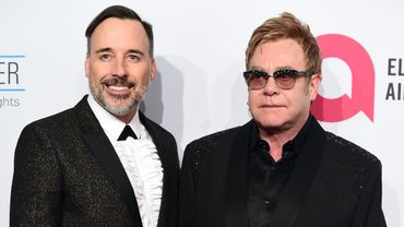David Furnish et Elton John