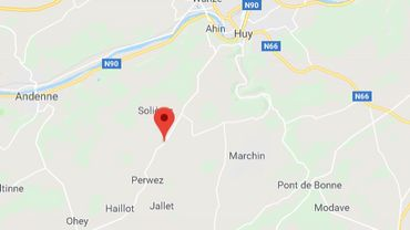 Namur: collision frontale entre deux véhicules sur la N698