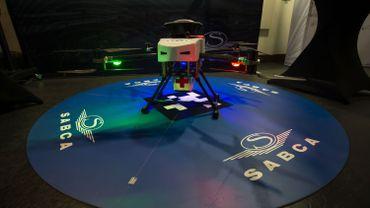 Le drone qui a été utilisé pour le test