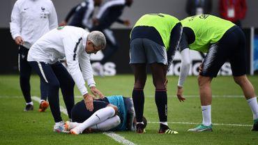 """""""Je vais bien"""", assure Mbappé après le coup reçu à la cheville"""