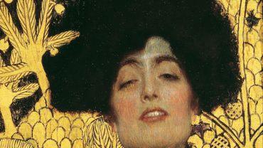 """Gustav Klimt, """"Judith"""" (1901), Huile sur toile 84 x 42 cm"""