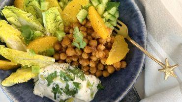 Salade de pois chiches... Et plein d'autres choses