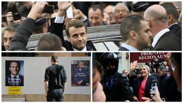 Emmanuel Macron élu, tension médias-FN: le direct d'une journée historique