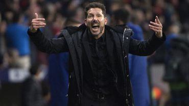"Diego Simeone mis à l'amende pour ""conduite inappropriée"""