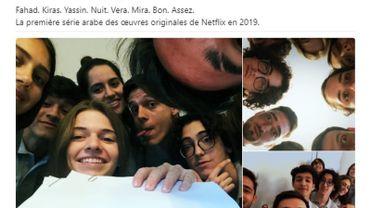 """Le compte Netflix version langue arabe a annoncé le tournage de la première série originale """"Jinn"""", lundi 13 août."""