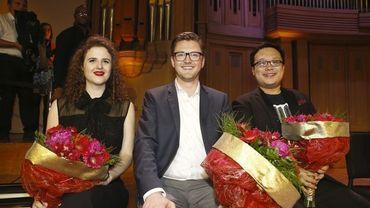 Eva Zaïcik, Samuel Hasselhorn et Ao Lio, les trois premiers lauréats seront à nouveau sur la scène de BOZAR pour le concert de clôture du Concours Reine Elisabeth 2018.
