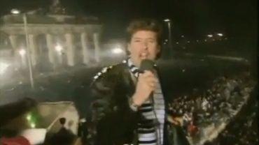 Quand la chanson de David Hasselhoff donnait de l'espoir à l'est allemand