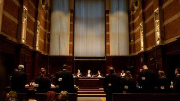 Le procès se tenait au tribunal correctionnel de Termonde