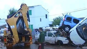 Inondations à Majorque: le bilan grimpe à 12 morts