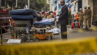 Brésil: 11 morts dans l'incendie d'un hôpital à Rio